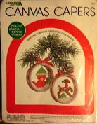 Leisure Arts Canvas Capers #418 - Deer & Redbird - Dick Martin