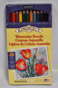 Kimberly Watercolour Pencil Set 12 Assorted Colours 700-12A