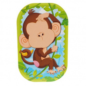 Funny Faces Sticker Set 3D, Monkeyin' Around