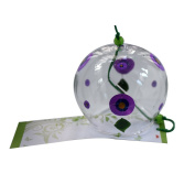 Japanese Furin Wind Chimes Bells Handmade Glass Birthday Christmas Gift Home Decors