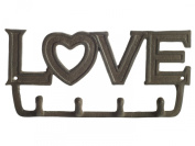 """""""LOVE"""" Antique Key Holder by Comfify 