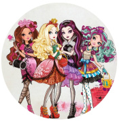 Ever After High Edible Image Photo Sugar Frosting Icing Cake Topper Sheet Birthday Party - 20cm Round - 73849