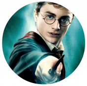 Harry Potter Hogwarts Edible Image Photo Sugar Frosting Icing Cake Topper Sheet Birthday Party - 20cm Round - 75270