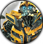 Transformers Edible Image Photo Sugar Frosting Icing Cake Topper Sheet Birthday Party - 20cm ROUND - 75744