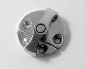 Boat Latch / Catch - Turn Button - Door Cabinet Hatch - Small - Marine 316 Stainless steel