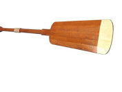 Wooden Hamilton Squared Decorative Rowing Boat Oar w/ Hooks - 160cm - Nautical Decor