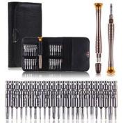 25 in1 Screwdriver Set Opening Repair Tools Kit For iPhone 6 5 for for for for for for for for for for Samsung Cellphone
