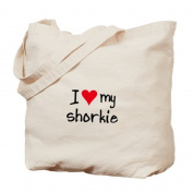 CafePress Tote Bag - I LOVE MY Shorkie Tote Bag