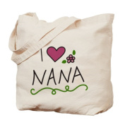 CafePress Tote Bag - I Love Nana Tote Bag