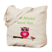 CafePress Tote Bag - Owl Always Love You Tote Bag