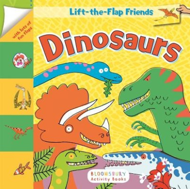 Lift-The-Flap Friends: Dinosaurs [Board Book]