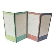 I-scream 4 panel folding screen kit - Sketch Type / The Four Gracious Plants