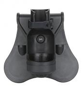 Tactical Scorpion Gear TSG-FH01 Polymer Modular LED Flashlight Pouch - Black