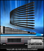 Fits 2009-2014 Ford F-150 Lower Bumper Stainless T304 Black Billet Grille Grill #N19-J98766F