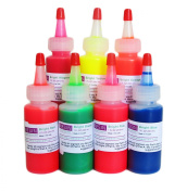 Resin Obsession bright translucent colour pigments - complete set of 7 colours