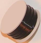 32 Gauge Round Black Enamelled Craft Wire - 46m