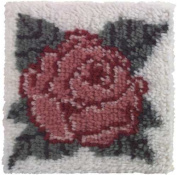 Latch Hook Kit - Rose