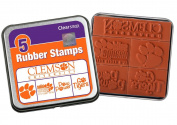Clearsnap Colour Box Clemson University Rubber Stamp Set