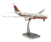 HG0465G Hogan Gulf Air A330-200 1:200 Model Aeroplane W/GEAR 50TH Anniv A40-KF