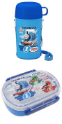 Thomas Combination Set of Two with Bento (Lunch) Box and Thomas Thermos and Cup
