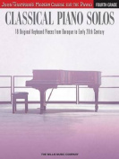 Classical Piano Solos - Fourth Grade