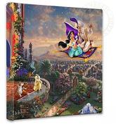 Thomas Kinkade Aladdin 14x 53lery Canvas Wrap