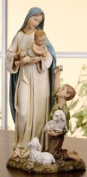 Shepherd Boy with Madonna and Child Renaissance Collection Figure - 23cm