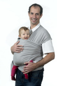 Eliclaire Wrap Baby Sling, Baby Carrier Wrap, Original Grey