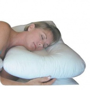 DMI Healthcare Stress-ease Support Pillow, Hypo-Allergenic, Machine Washable, White, 43cm x 60cm - 1 ct.