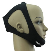 SNORE-EX Professional Anti Snore Chin Strap - Adjustable Sleep Chin Strap - Instant Snore Stopper - #1 Ranked Device! One Size Fits All - Satisfaction Guaranteed!