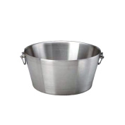 Erwyn Products 71220 Brushed S/S Double Wall Insulated 38cm Party Tub