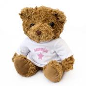 NEW - MIRREN - Teddy Bear - Cute And Cuddly - Gift Present Birthday Xmas