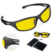Duduma Polarised Sports Sunglasses for Running Cycling Fishing Golf Tr90 Unbreakable Frame
