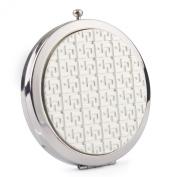 Round Compact Mirror (Silver)