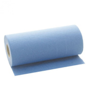 Blue Desk Massage Couch Bed Roll. 2 Ply Hygiene Roll. 24cm (24 Centimetres) Wide x 50 metres Long From Simply Direct