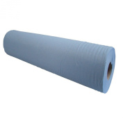 Blue Massage Couch Bed Roll. 2 Ply Hygiene Roll. 50cm (50 Centimetres) Wide x 50 metres Long From Simply Direct