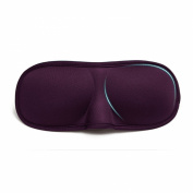 tinxi® 3D high quality sleep mask eye mask Sleeping Masks for Men & Women purple