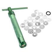 VORCOOL Portable Polymer Clay Gun Extruder Sculpey Sculpting Tool with 20 Interchangeable Discs