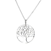 Silver Plated Hot Tree Of Life Pendant Necklace with 46cm chain
