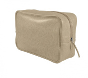 Lucrin Leather Wash Bag - Granulated Cow Leather