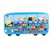Peppa Pig Phonics Alphabet Bus