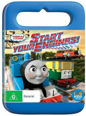 Thomas Friends Start Your Engines DVD 1Disc