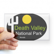 CafePress death valley national park Nevada Sticker Rectang Sticker Rectangle -