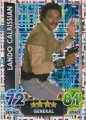 Disney Star Wars Force Attax The Force Awakens Holographic Foil Lando Calrissian Trading Card