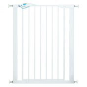 Lindam Easy Fit Plus Deluxe Tall Extra High Pressure Fit Pet Gate 75 - 82 cm white - Collection 2015