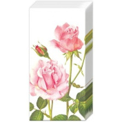 2 Packs of Paper Pocket Tissues A Rose For You