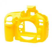 EasyCover Silicone Armour Skin Case Cover Protector for Nikon D600/D610 Camera - Yellow