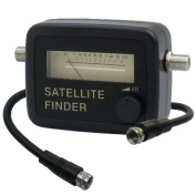 SatConn SF-10 Satellite Finder up to 2300 mHz, digital and analogue, incl. Cable