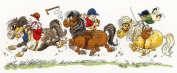 Bothy Threads Thelwell Horse Play Cross Stitch Kit