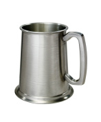 Wentworth Pewter 1 pint Antique Finish Pewter Tankard